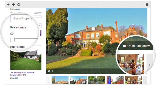 web design for estate agents